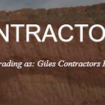 Logo of Giles Contractors Pty Ltd.
