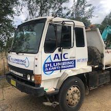 Logo of AIC Plumbing & Earthmoving