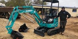 AIC Plumbing & Earthmoving Track Mounted Excavator