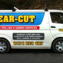 Logo of Clear Cut Concrete Drilling & Sawing Services