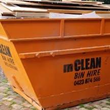 Logo of Mclean bin hire Bendigo