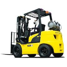 Logo of Hyundai Forklifts