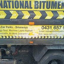 Logo of National Bitumen