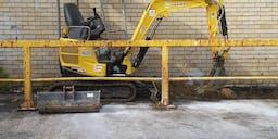 BP Plumbing Group Pty Ltd Track Mounted Excavator
