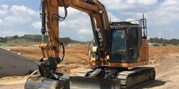 BP Plumbing Group Pty Ltd Wheel Mounted Excavator