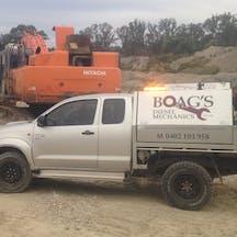 Logo of Boag's Diesel Mechanics
