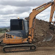 Logo of Col Finlay Earthmoving and Landscaping Pty Ltd