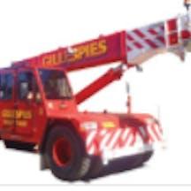 Logo of Gillespies Crane Services