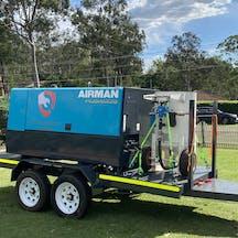 Logo of heavy maintenance australia pty ltd