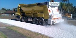 Accurate Asphalt & Road Repairs Pty Ltd Spreader