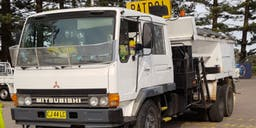 Accurate Asphalt & Road Repairs Pty Ltd Flocon Truck