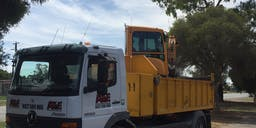 Australian Trenching and Excavations Tipper