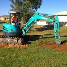 Logo of Darryl Plum Bobcat & Excavator Hire