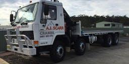 AJ Scarr Cranes Crane Truck