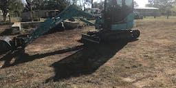 Brasha Earthworks Track Mounted Excavator