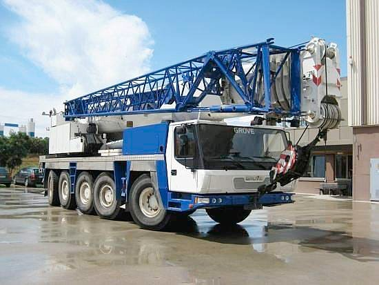 100t - 200t SWL Cranes for hire - Wicks and Parker Cranes
