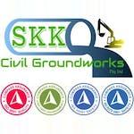 SKK Civil Groundworks logo