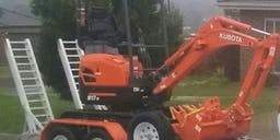 Ballarat Mini Dingo Hire Track Mounted Excavator
