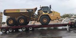 AAKKA Plant Hire Articulated Dump Truck