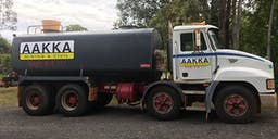 AAKKA Plant Hire Truck Mounted Water Cart