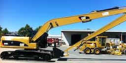 A P Delaney & Co. Long Reach Excavator