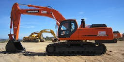A P Delaney & Co. Track Mounted Excavator