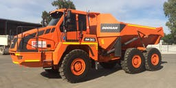 A P Delaney & Co. Articulated Dump Truck