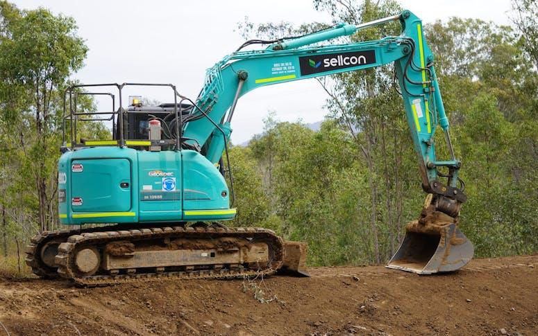Track Mounted Excavator