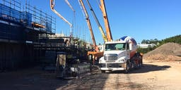 Aptec Concrete Pumping Boom Pump