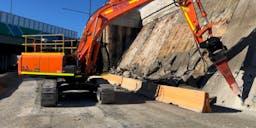 AUSDIG Track Mounted Excavator