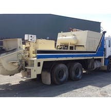 Logo of K & J Concrete Pumping