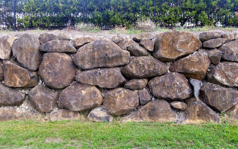 Boulder Retaining Walls