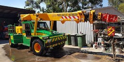 Purcell Crane Hire banner