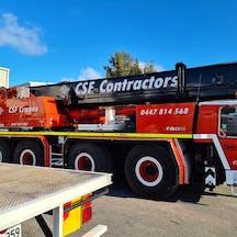 Logo of CSF Contractors