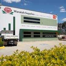 Logo of Waratah Supplies – Building | Landscaping | Gardening