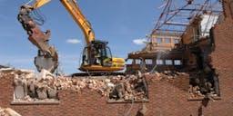 A & H Earthmovers Demolition Excavator