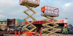 Barossa Valley Hire Scissor Lift - Diesel