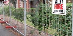 Barossa Valley Hire Temporary Fence
