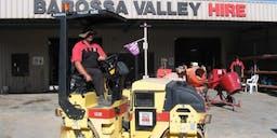 Barossa Valley Hire Smooth Drum Roller