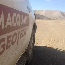 Logo of Macquarie Geotechnical
