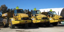 ASG Equipment Articulated Dump Truck