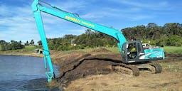 Bonelli Plant Hire Long Reach Excavator