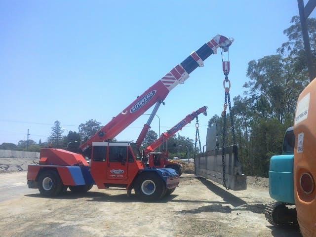 Colliers Crane Hire