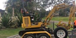 Bechs Earthworks Track Mounted Excavator