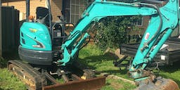 Ace Constructions and Excavations Track Mounted