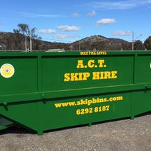 Logo of ACT Skip Hire