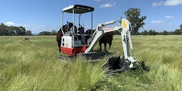 Bear-All Contracting Track Mounted Excavator