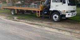 Bear-All Contracting Crane Truck