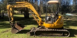 A2B Earthworks Track Mounted Excavator