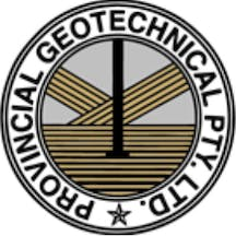 Logo of Provincial Geotechnical P/L